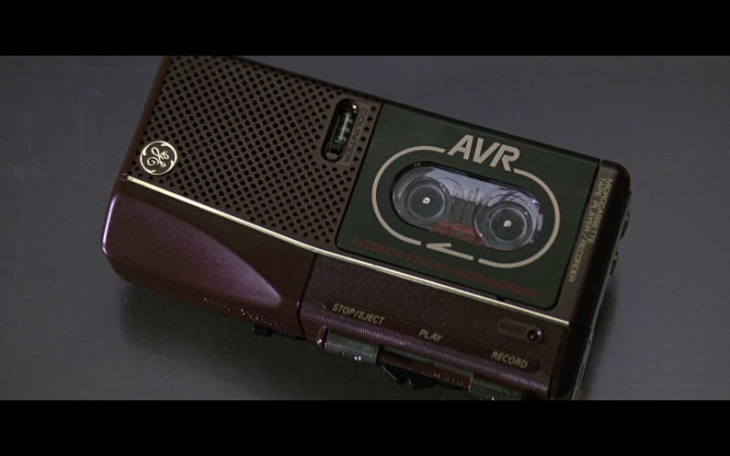 General Electric (GE) AVR Portable Tape Player in Cape Fear (1991)