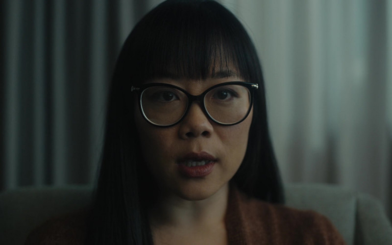 Grace Lynn Kung as Dr. Renée Li Wears Persol Glasses in Clarice S01E06 TV Show 2021