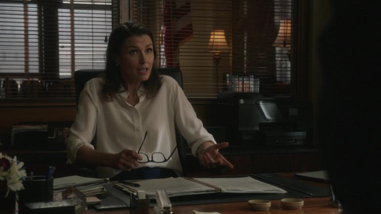 HP AIO Printer of Bridget Moynahan as ADA Erin Reagan in Blue Bloods S11E12 Happy Endings (2021)