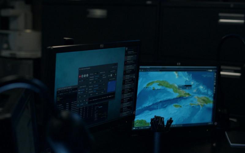 HP Computer Monitors in Manifest S03E01 Tailfin (2021)
