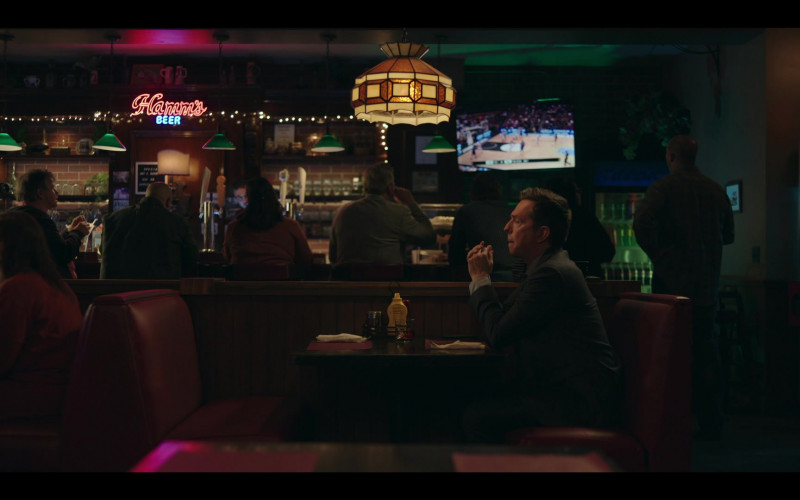 Hamm's Beer Neon Sign in Rutherford Falls S01E06 Negotiations (2021)