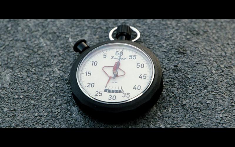 Hanhart stopwatch in The International (2009)