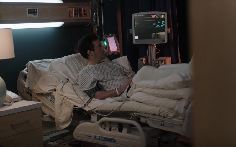Hill-Rom Hospital Bed in 9-1-1 Lone Star S02E09 (1)