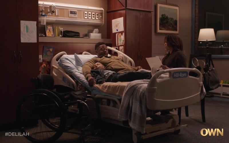 Hill-Rom Hospital Bed in Delilah S01E06 (1)
