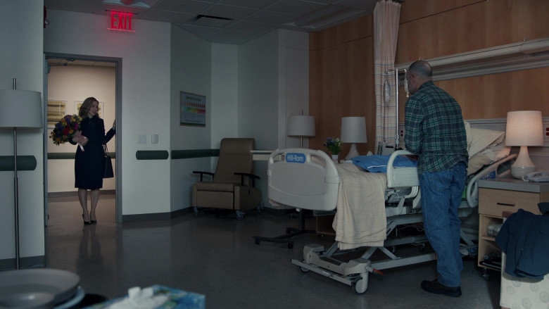 Hill-Rom Hospital Bed in The Equalizer S01E06 The Room Where It Happens (2021)