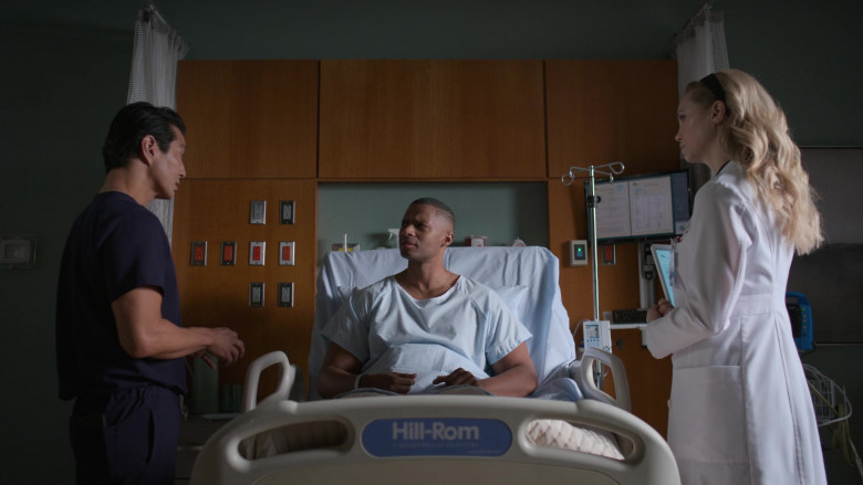Hill-Rom Hospital Beds in The Good Doctor S04E14 (1)