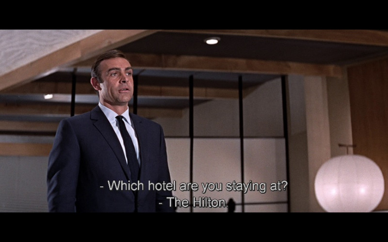 Hilton Hotel in You Only Live Twice (1967)