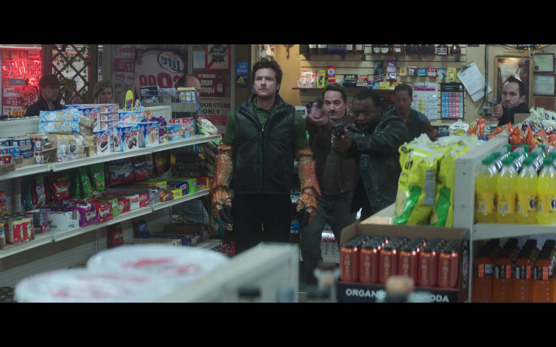 Hostess, Mott's, Skittles, Mike & Ike, Oreo, Fanta, Powerade in Thunder Force (2021)