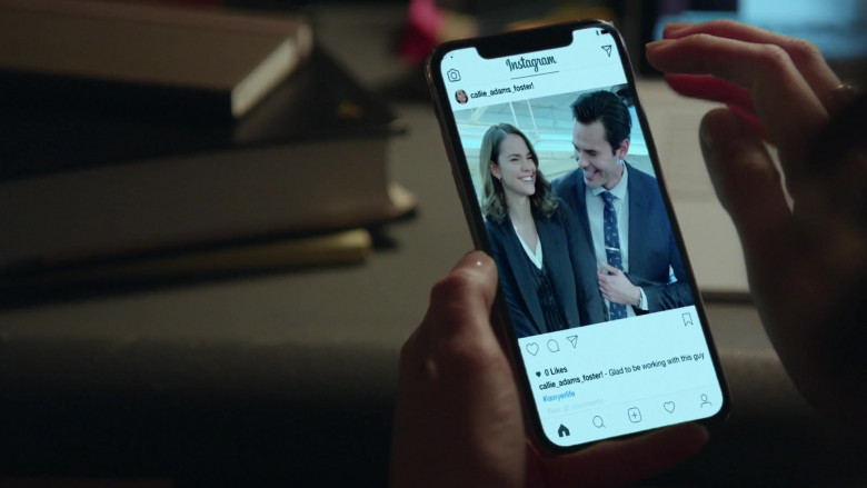 Instagram Social Network App in Good Trouble S03E08 TV Show (2)