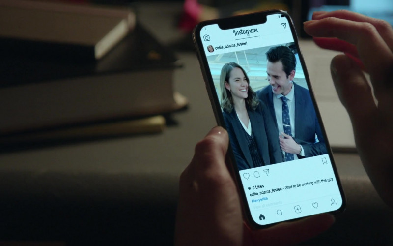 Instagram Social Network App in Good Trouble S03E08 TV Show (2)