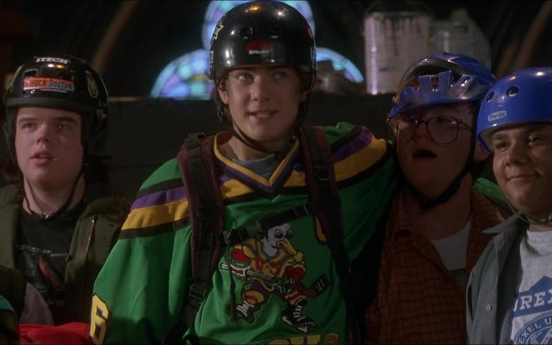 Itech Helmet of Elden Henson as Fulton Reed in D3 The Mighty Ducks (1996)