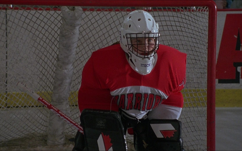 Itech Hockey Goalie Helmet in D3 The Mighty Ducks (1996)