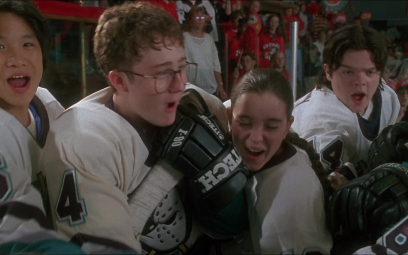 Itech Ice Hockey Gloves in D3 The Mighty Ducks (2)