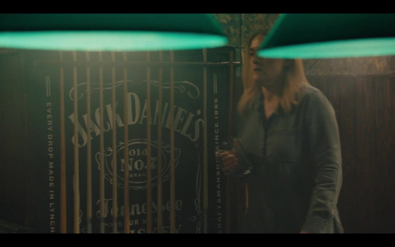 Jack Daniel's Old No. 7 Tennessee Whiskey in Mare of Easttown Episode 1