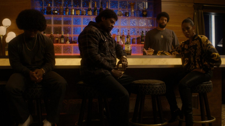 Jameson Whiskey Bottle in Snowfall S04E08 Betrayal (2021)