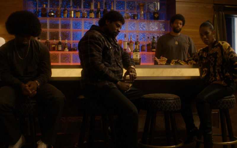 Jameson Whiskey Bottle in Snowfall S04E08 Betrayal (2021)
