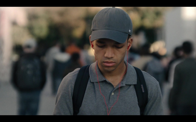 JanSport Backpack of Justice Smith as Chester in Generation S01E08 The Last Shall Be First (2021)