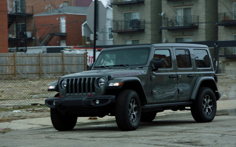 Jeep Wrangler Rubicon Car in Chicago P.D. S08E12 Due Process (2021)