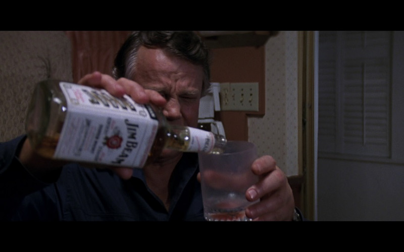 Jim Beam Bourbon whiskey in Cape Fear (1991)