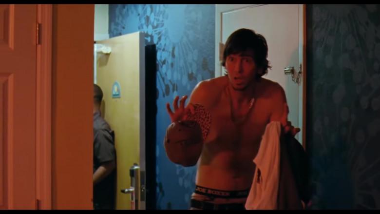 Joe Boxer Underwear of Nicholas Braun as Derrek in Zola (2020)