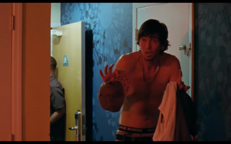 Joe Boxer Underwear of Nicholas Braun as Derrek in Zola (2020)
