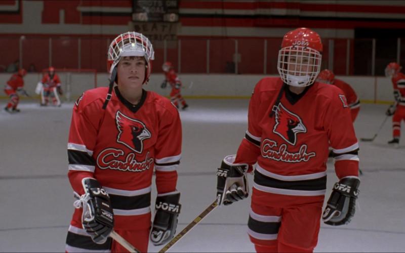 Jofa Hockey Gloves in The Mighty Ducks