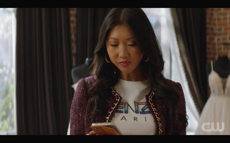 Kenzo Women's T-Shirt in Kung Fu S01E02 Silence (2021)
