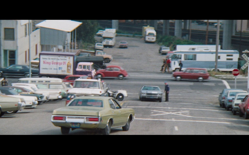 King George IV whisky in Magnum Force (1973)