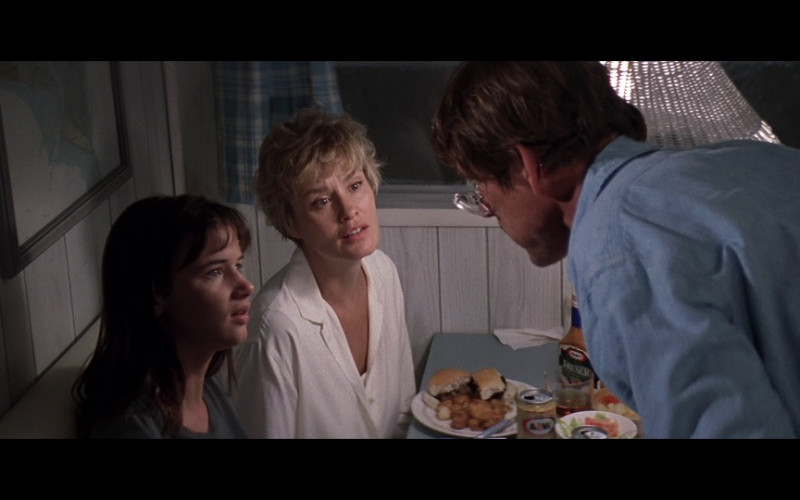 Kraft French Dressing and A&W Root Beer in Cape Fear (1991)