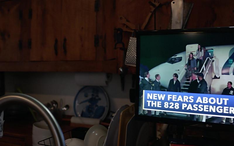 LG TV in Manifest S03E02 Deadhead (2021)