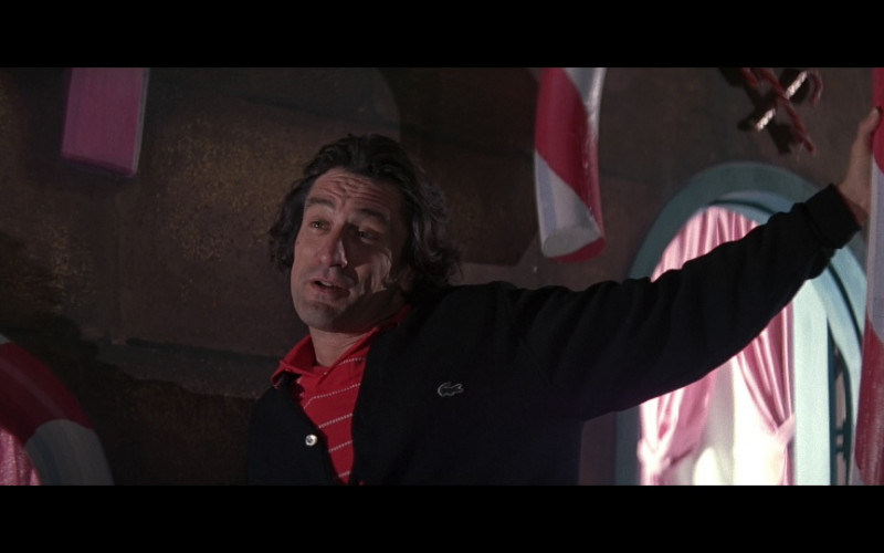 Lacoste Cardigan of Robert De Niro as Max Cady in Cape Fear (1991)
