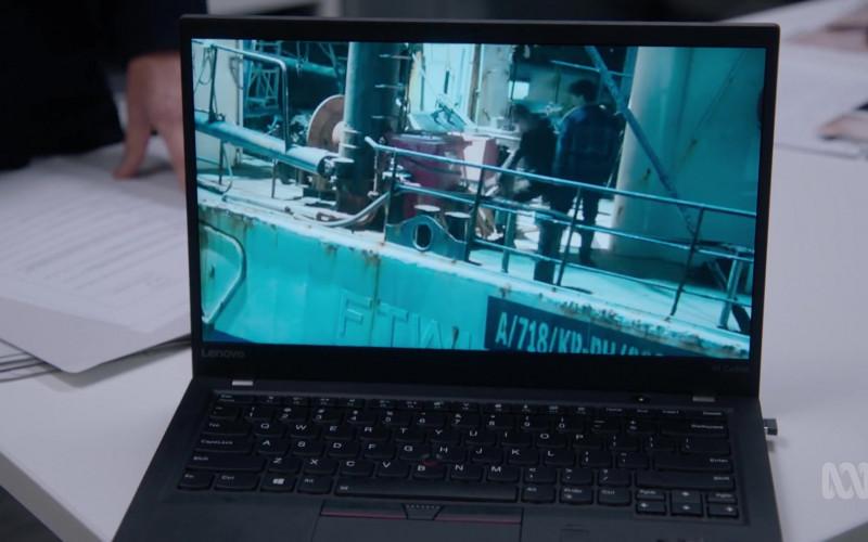 Lenovo ThinkPad X1 Carbon Laptop in Harrow S03E10 Ab Initio 2 (2021)