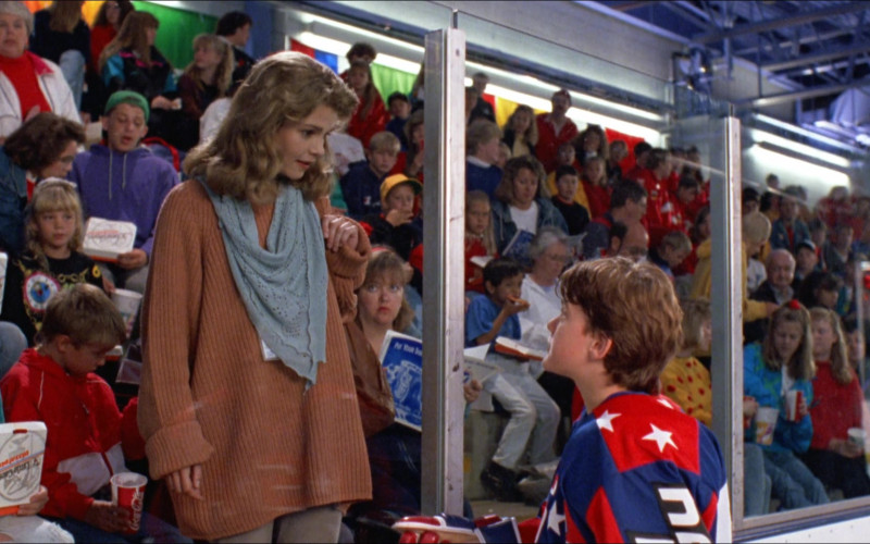 Little Caesars Pizzas and Coca-Cola Drink in D2 The Mighty Ducks (1994)