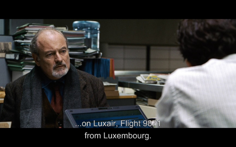 Luxair Airlines in The International (2009)