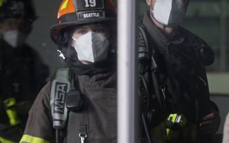MSA Self Contained Breathing Apparatus in Station 19 S04E11 TV Show 2021 (5)
