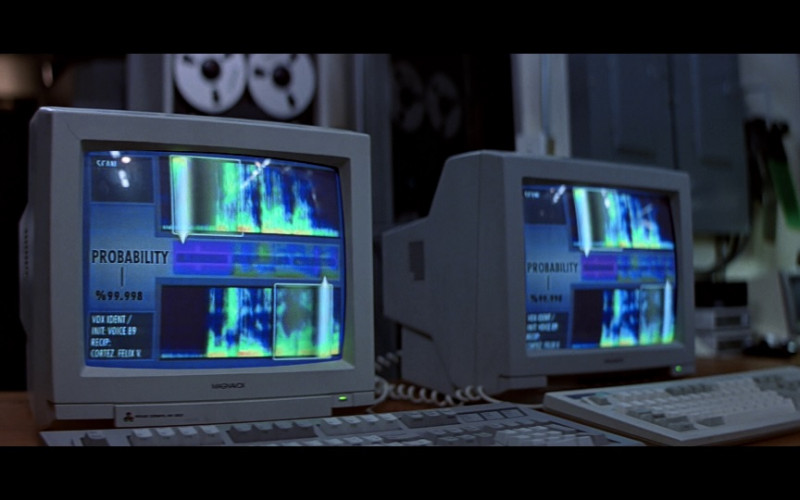Magnavox Monitor in Clear and Present Danger (1994)