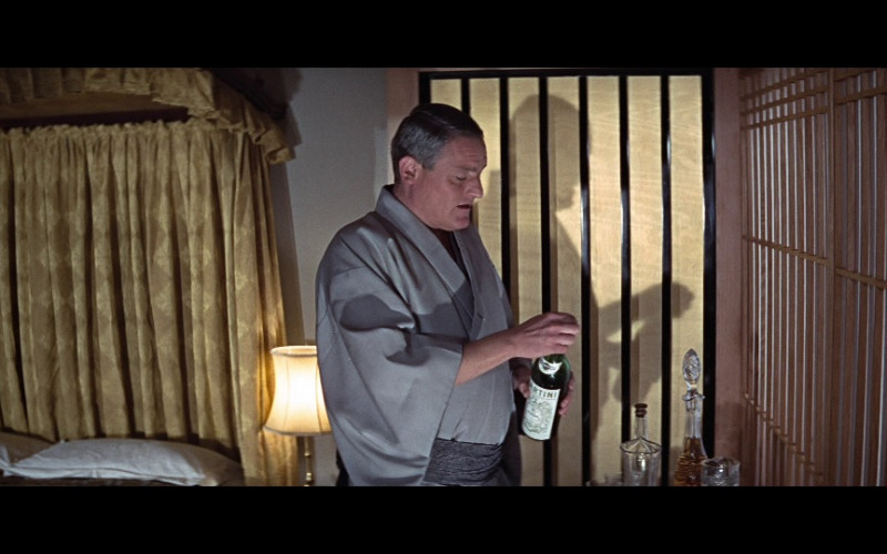 Martini & Rossi Alcoholic Beverage in You Only Live Twice (1967)