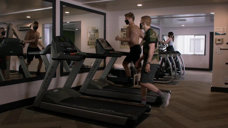 Matrix Fitness Treadmills in Shameless S11E11 (1)