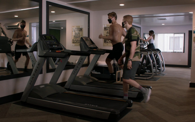 Matrix Fitness Treadmills in Shameless S11E11 (1)