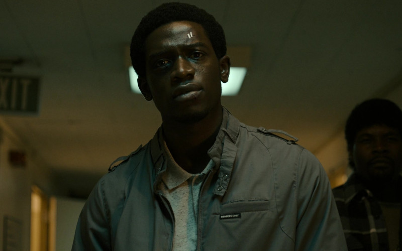 Members Only Jacket of Damson Idris as Franklin Saint in Snowfall S04E09 TV Show (3)