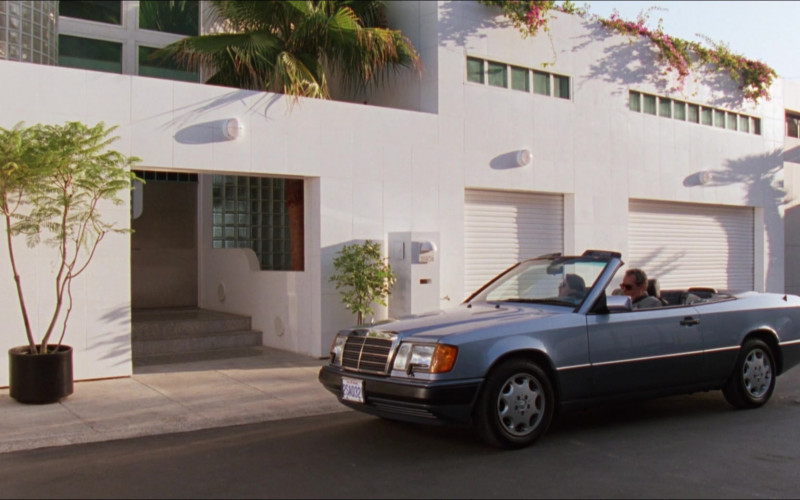 Mercedes-Benz 300 CE Cabrio Car in D2 The Mighty Ducks (1994)