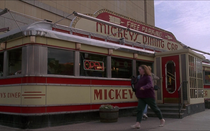Mickey's Diner in D3 The Mighty Ducks 1996 Movie (1)