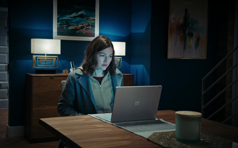 Microsoft Surface Laptop Used by Kelly Macdonald as DCI Joanne Davidson in Line of Duty S06E04 2021 (1)