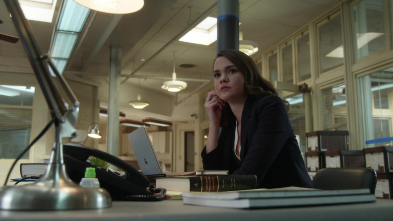 Microsoft Surface Laptop Used by Maia Mitchell as Callie Adams Foster in Good Trouble S03E08 TV Show 2021 (1)