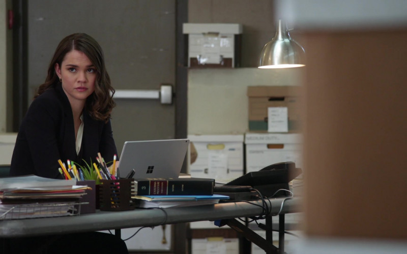 Microsoft Surface Laptop Used by Maia Mitchell as Callie Adams Foster in Good Trouble S03E08 TV Show 2021 (3)