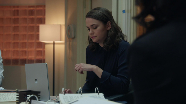 Microsoft Surface Laptop Used by Maia Mitchell as Callie Adams Foster in Good Trouble S03E08 TV Show 2021 (4)