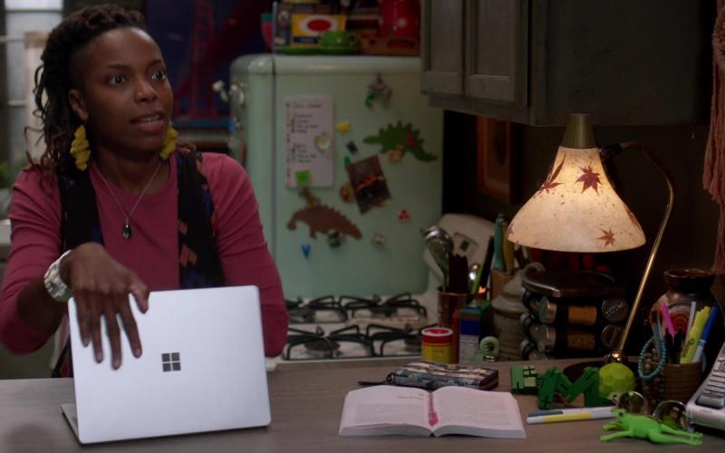 Microsoft Surface Laptop in Home Economics S01E02 (2021)