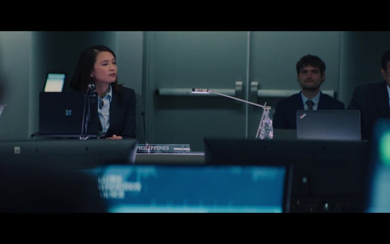 Microsoft Surface and Lenovo Thinkpad Laptops in The Falcon and the Winter Soldier S04E11 (1)