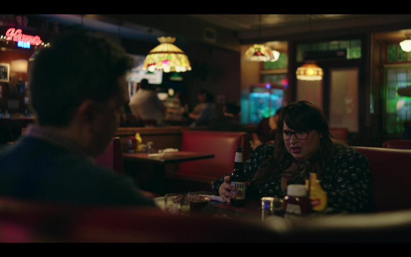 Miller Lite Beer Enjoyed by Jana Schmieding as Reagan Wells in Rutherford Falls S01E01 Pilot (1)