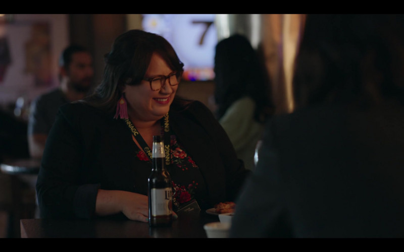 Miller Lite Beer of Jana Schmieding as Reagan Wells in Rutherford Falls S01E08 Skoden (2021)